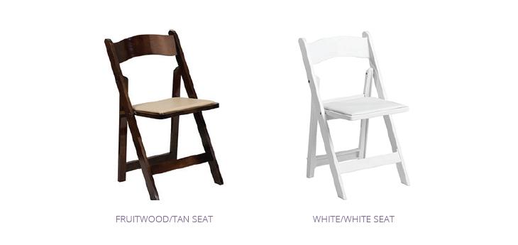 Folding Chair Rentals