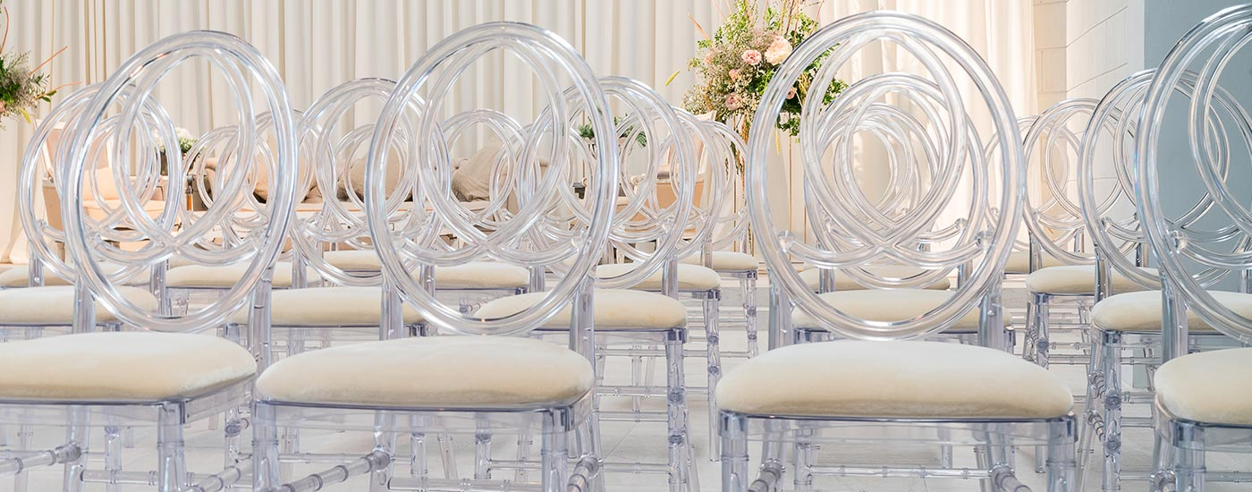 Crystal Phoenix Chair Rentals